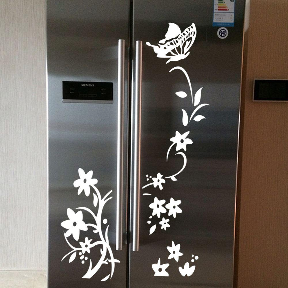 aw9278 flower vine wardrobe stickers decorative wall stickers pvc see larger image
