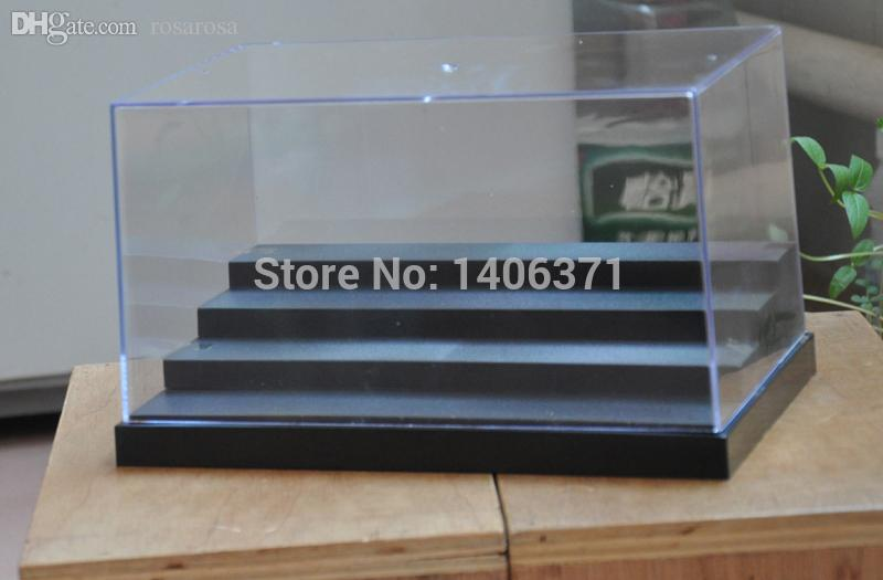 step in plastic best wholesale four steps clear uv acrylic plastic display box