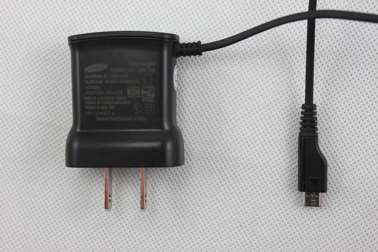 Für Samsung Galaxy S2 I9100 I9000 S5820 I9220 I8160 G7106 Hinweis Micro-USB-Wandadapter Ladegerät UL EU Plus ETA0U10JBS 100 Stk