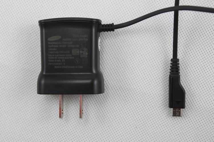 Para Samsung Galaxy S2 I9100 I9000 S5820 I9220 I8160 G7106 Nota Adaptador de viaje de pared micro USB Cargador UL EU Plus ETA0U10JBS