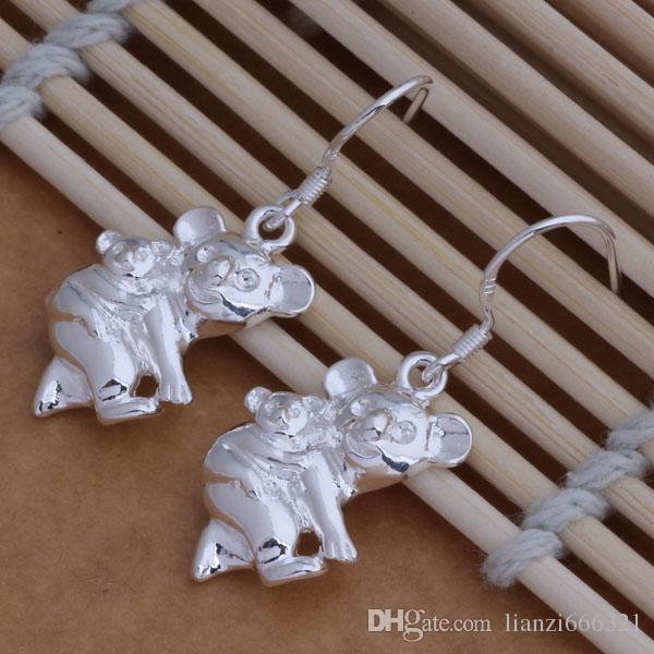 Мода изготовление ювелирных изделий 40 шт много кенгуру серьги стерлингового серебра 925 заводская цена мода обуви серьги