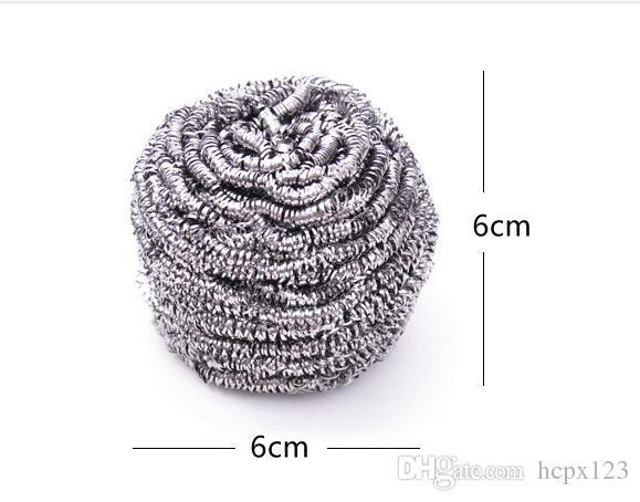 Кухонная щетка из нержавеющей стали для мытья посуды, чтобы очистить шар, не ржавеет кисть Xiguo 2 упаковки