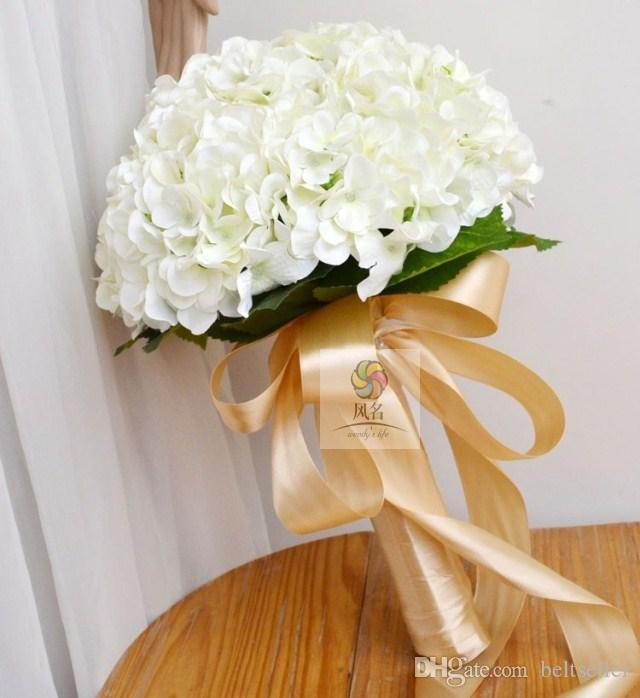 Elegant Hydrangea Artificial Silk Flower Wedding Centerpieces Bouquet Christmas Ornament Garland Home Decoration to choose