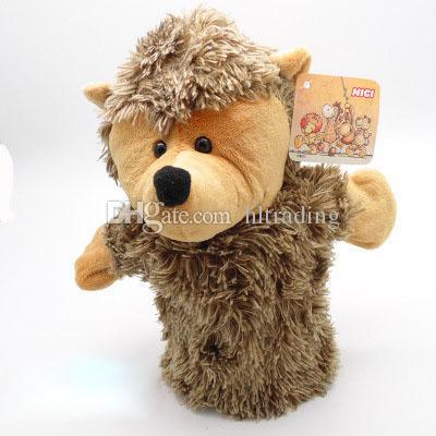 Eltern-Kind-Interaktion Weihnachten Handpuppe Spielzeug 24CM Tier gefüllt Fingerpuppe für Baby Xmas Geschenke C3138