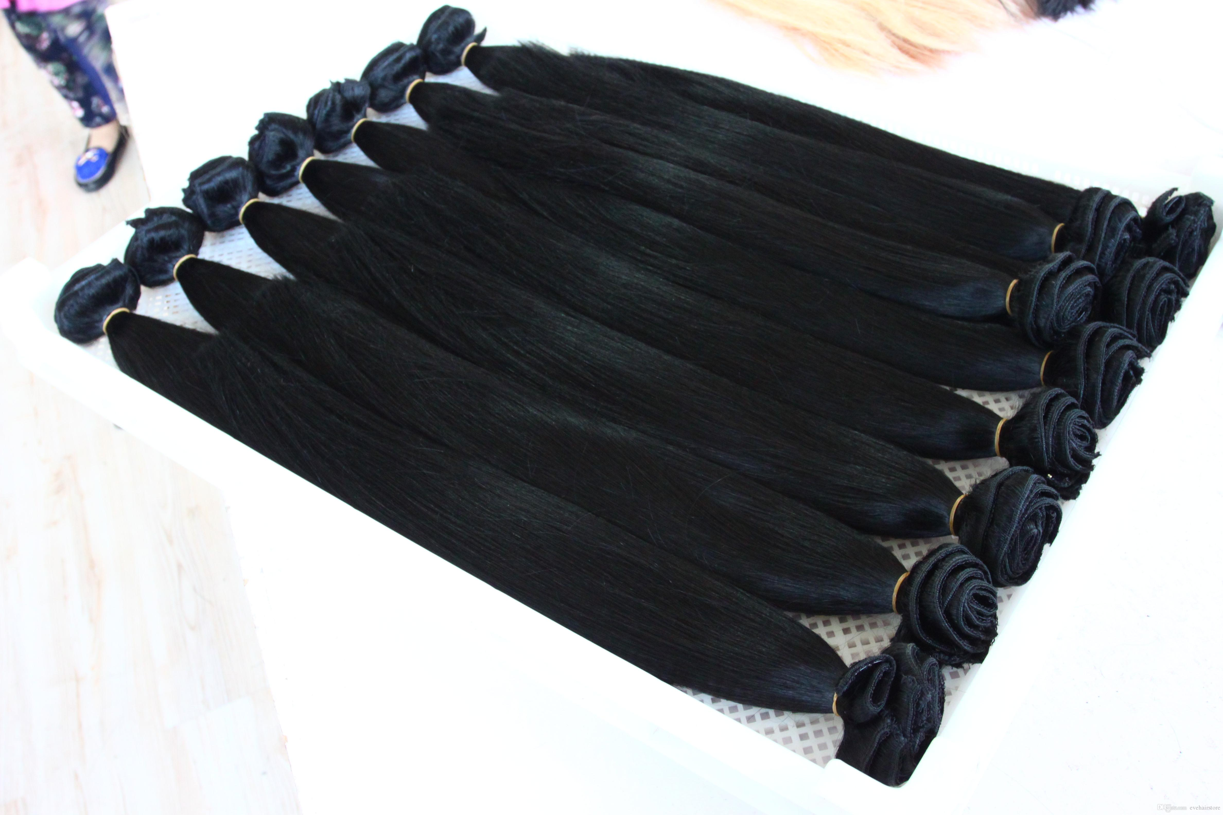 2018 Kbl Excellent 18 Inch Hair Extensions Clip In Clip In Human