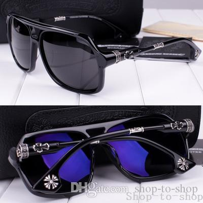 Men Shipping Free Polarized Anti New Glasses Box Lunch 2016 Mens Luxury Uv Designer Sunglasses Vintage 1JKFTlc