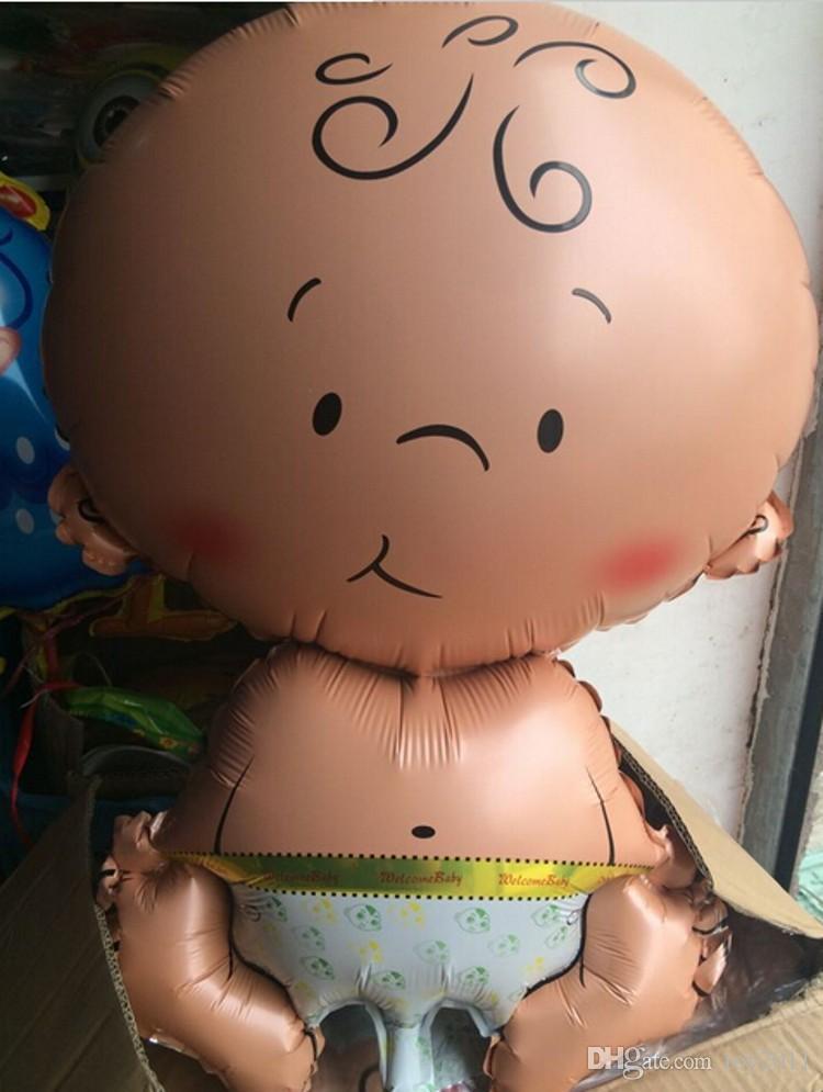 새로운 = 어린이 노리개 천사 아기 호일 풍선 헬륨 globos 풍선 생일 파티 장식 공 공 장난감