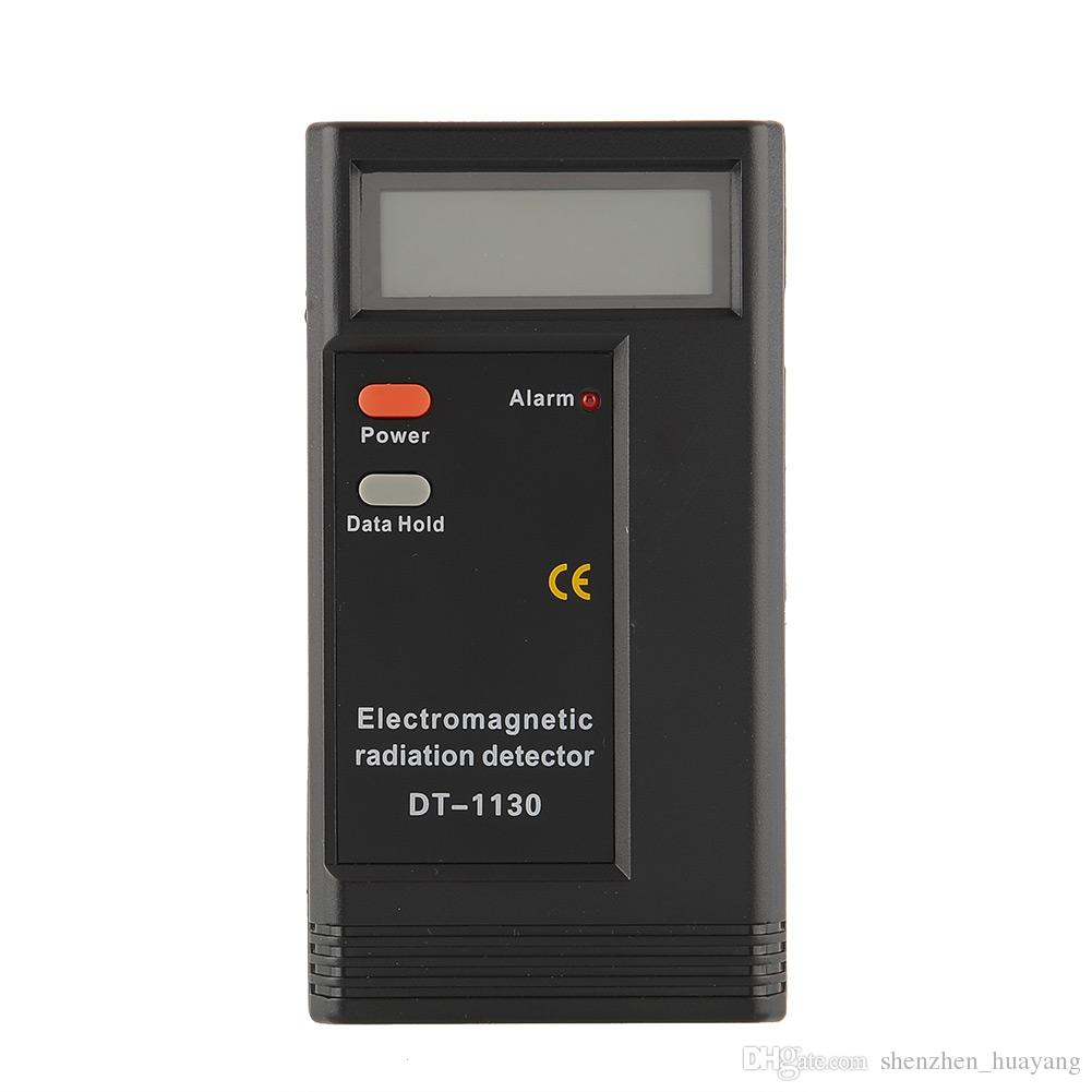DT1130 Electromagnetic Radiation Detector EMF Meter Tester Ghost Hunting Equipment without package DHL