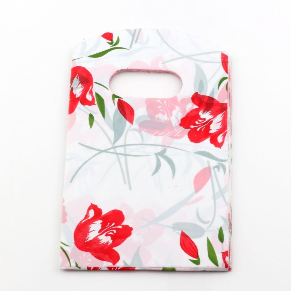 Vendita calda! Sacchetti regalo sacchetti di gioielli sacchetti di plastica sacchetti di 15x 9cm regalo.