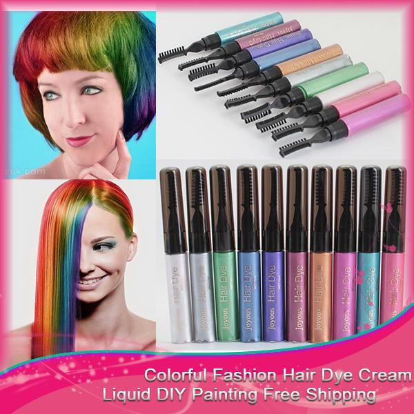Hair Color Dye Diy Hair Cream Easy Set Mascara Professional Cream ...