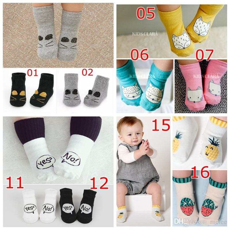 2019 Spring And Summer New Thin Cotton Baby Socks Dispensing Non-slip Knee Pads Baby Mosquito Tube Floor Socks Socks & Tights Back To Search Resultsmother & Kids