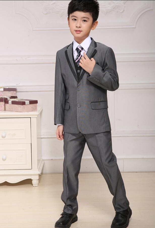 the most popular boys suits tuxedos little boys suits for wedding formal occasion three piece boys suitsjacketpantsvest mens formal dress suits best