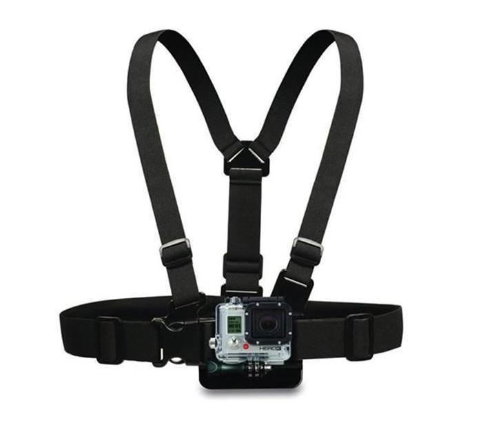 2017 Aksesuarları Demeti Ayarlanabilir Elastik Omuz Göğüs Kemeri için Hero 4 3 3 + 2 SJ4000 SJ5000 Xiaomi yi Spor Kamera