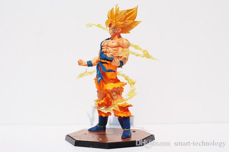 17CM Anime Dragon Ball Z Figure dolls Super Saiyan Goku PVC Action Figure Toy