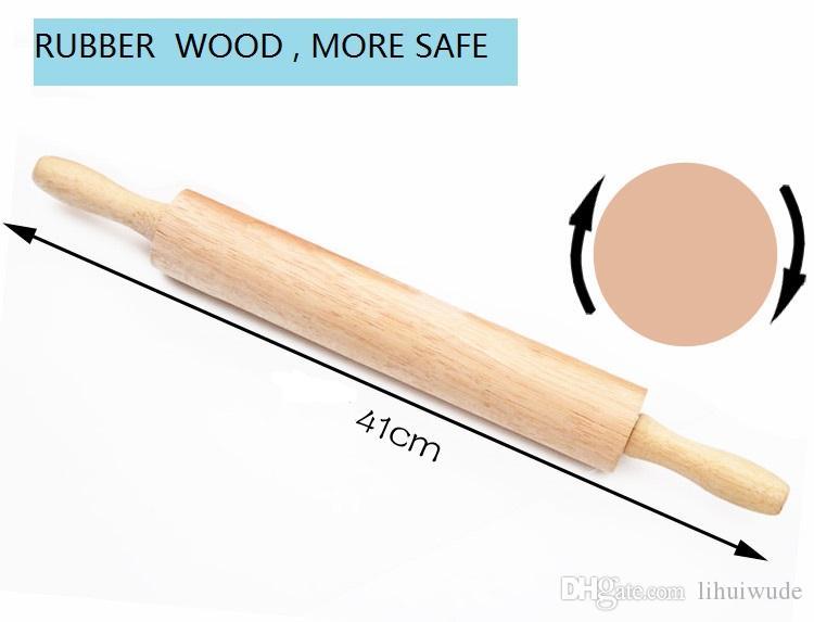 Rodillo clásico de madera