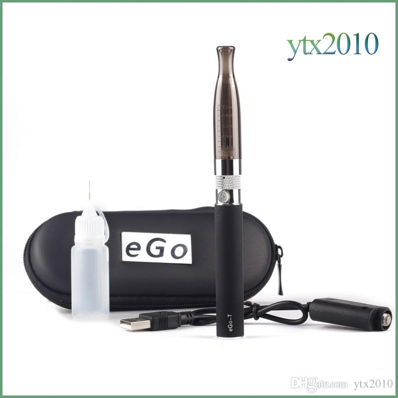 E cigarette H2 Ego T Zipper Case Kit 2.0ml Clearomizer 650/900/1100 mah Battery 510 Thread Electronic Cigarette