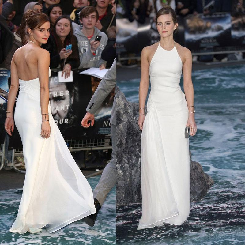 Emma Watson Red Carpet Celebrity Prom Dresses Formal Evening Gown ...