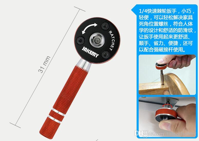 JM-8146 47 in 1 Multifunctional Household Maintenance Tools Kit Screwdriver Set for cellphone PC computer glass camera ect