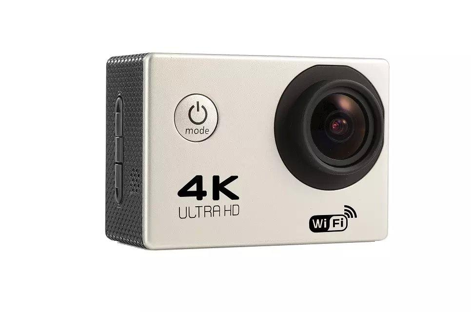 Action Camera 4K Wifi Ultra HD 1080p 60fps 170 Degrees Waterproof
