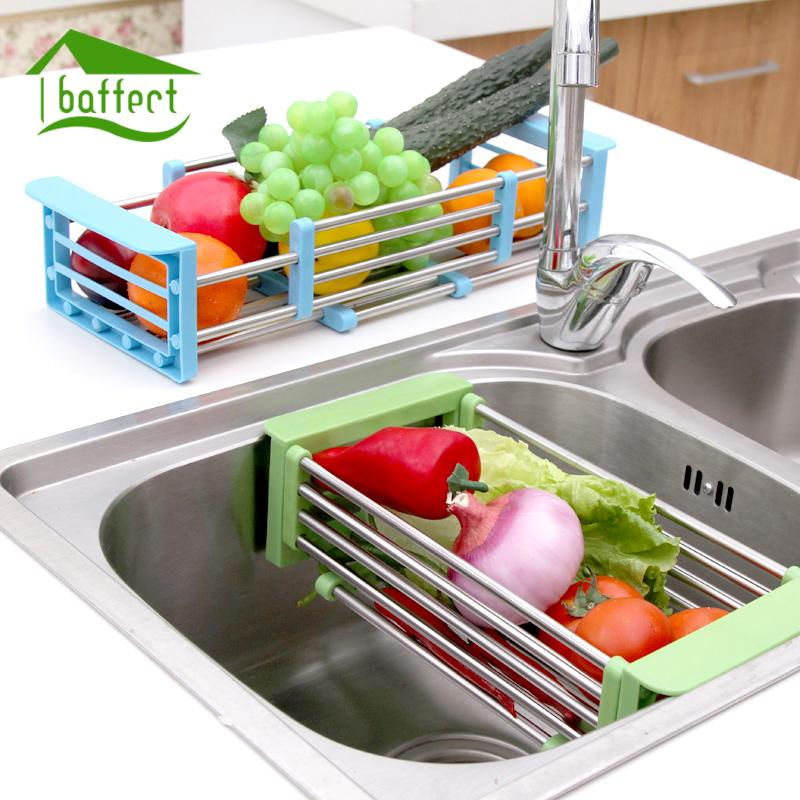 2019 telescopic kitchen sink dish rack insert countertop storage rh dhgate com