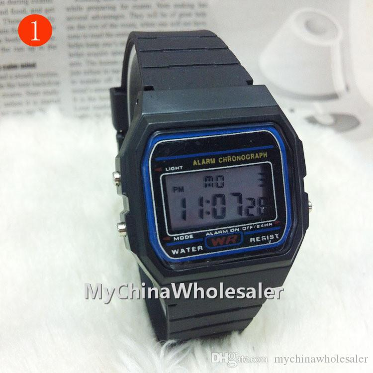 Digital Display Casual Watches Fashion Ultra Thin LED Wrist Watches Men Women Unisex Sport watch