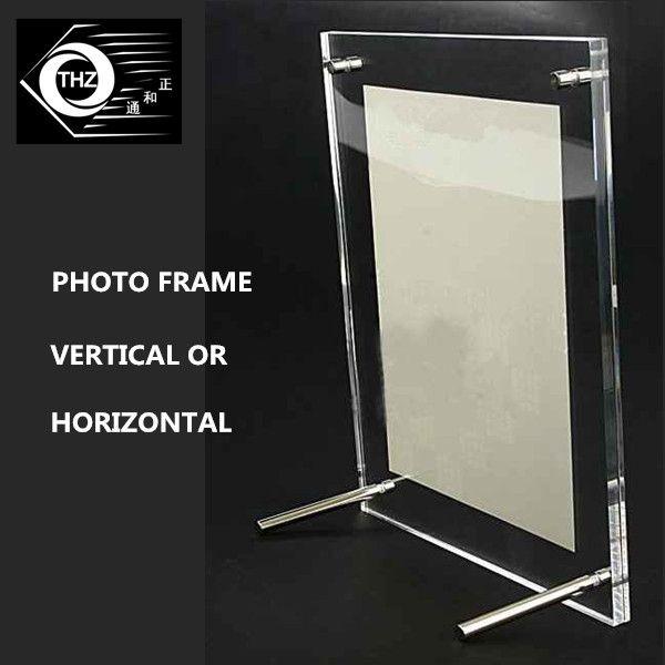2018 Metal Support Frame A5 / 10inch Acrylic Plexiglass European ...