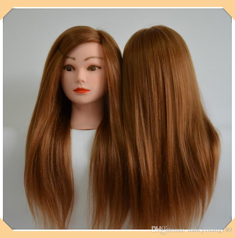 mannequin hair styling heads 22inch human hair with animal hair mannequin of 3779