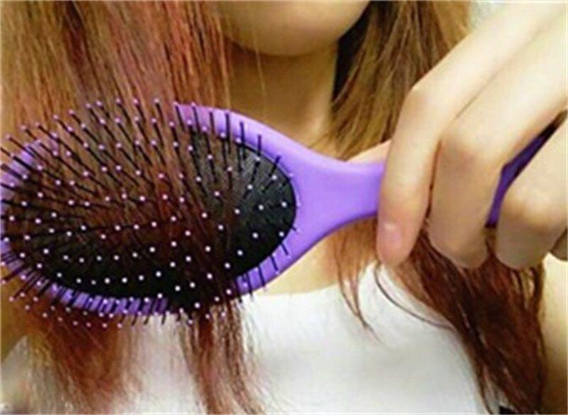 Kıllar Saç Derisi Masaj Tarak Kuru Ve Islak Çift Amaçlı Saç Fırçası Kuaförlük Şekillendirici Araçları 5 5 wm C R