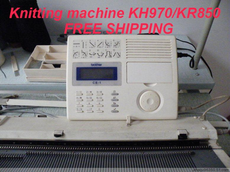 Knitted Machine Brother Pattern Programming Deviceused Computer