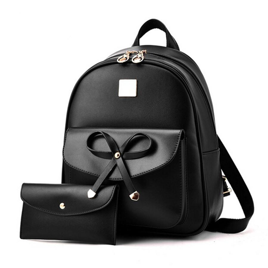 d74d715fd5 Fashion Backpack Women Backpack Leisure Student Schoolbag PU Leather Women  Bag Designers Brand For Teenage Girl Bags Rucksack From Bags wallets