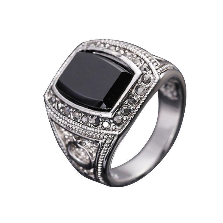 Best Fg Size 8 11 Fashion Men Jewelry Moon & Star Design 18k White