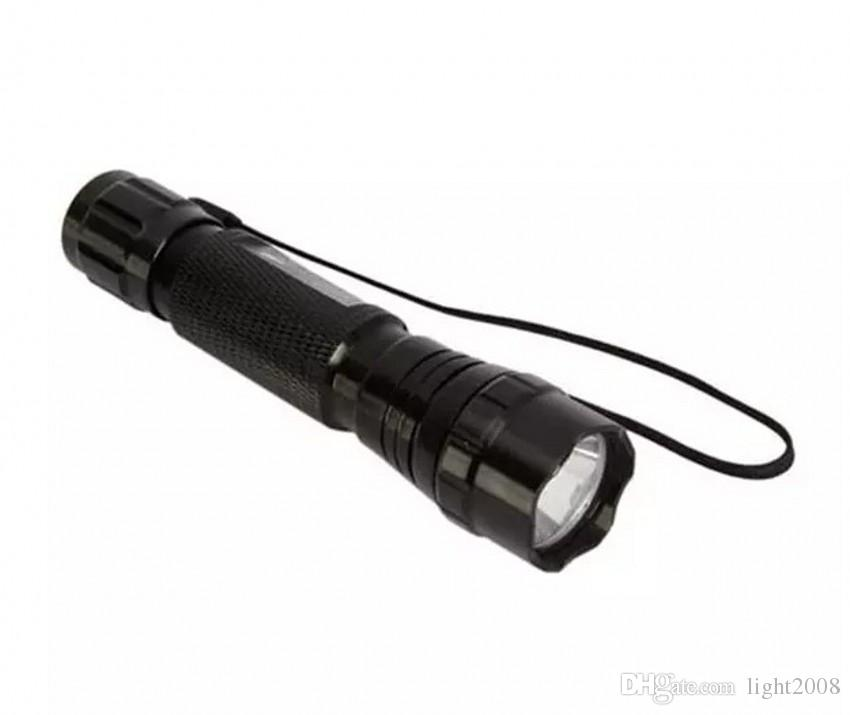 wholesale Wf-501b UV-Ultraviolet Led Flashlights 18650 Rechargeable Battery UV Ultraviolet Flashlight Torch with 18650 battery charger