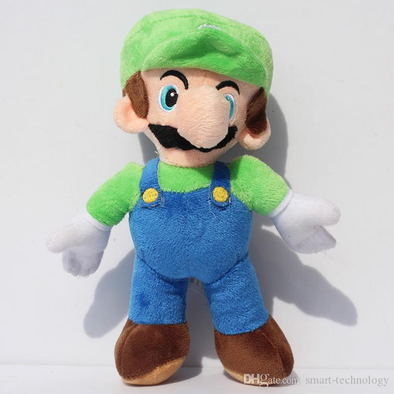 "9"" Super mario Bros Plush toy Mario luigi soft plush stuffed toy doll"