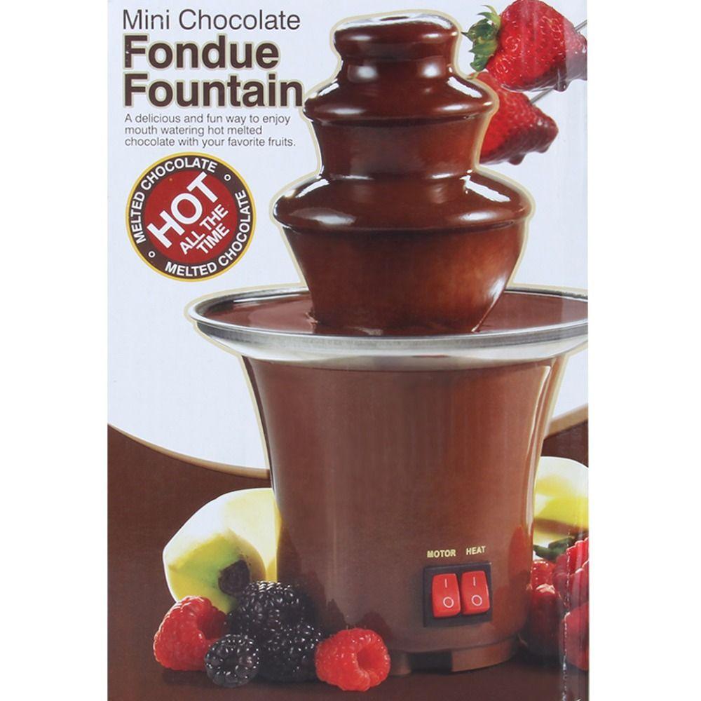 2017 High Quality Mini Chocolate Fountain Household Chocolate ...