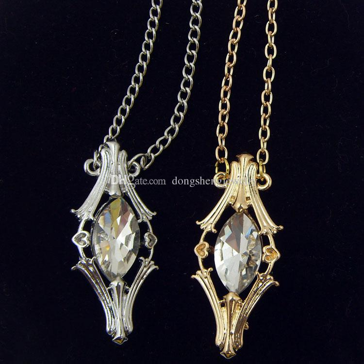 la nueva joyera de la pelcula el seor hobbit de tolkien vial galadriel cristal colgantes de