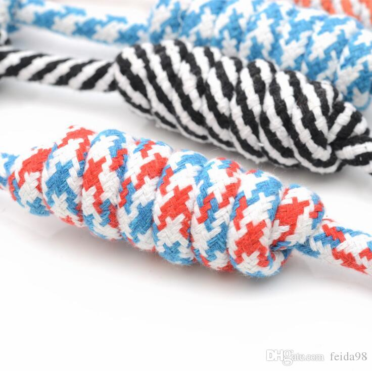 Hot sale Pet Toys for dog funny Chew Knot Cotton Bone Rope Puppy Dog toy Pets dogs pet supplies for small dogs for puppys 26cm G1409