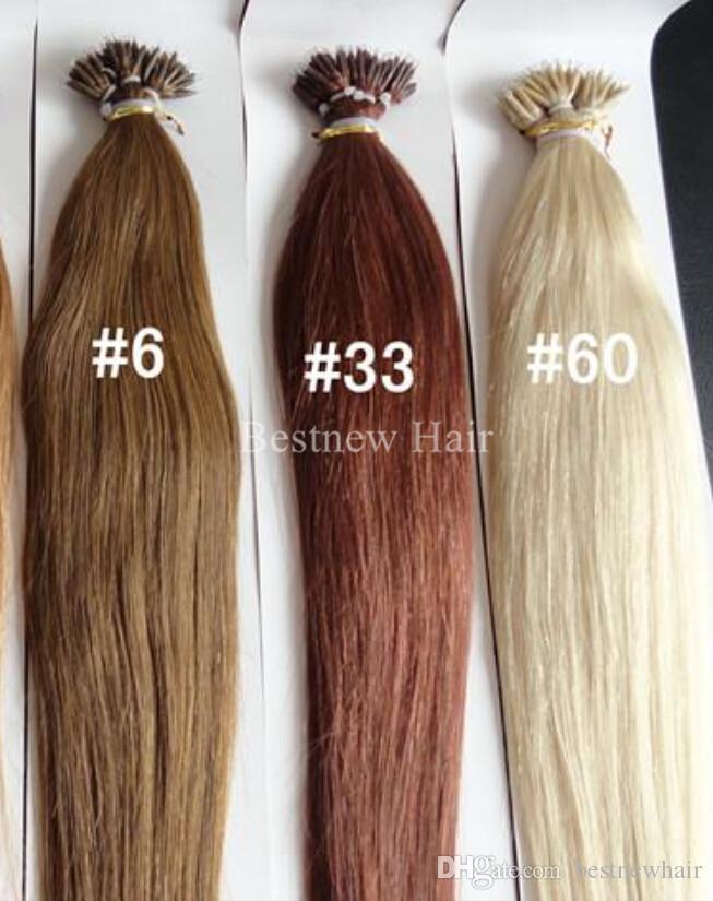 100g 18inch 20inch 22inch 24inc REMY MICRO NANO ANELLI dei capelli di estensioni 100% estensioni dei capelli umani indiani