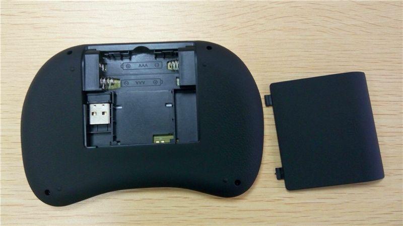 2.4G 터치 플라이 에어 마우스 BlackWhite 휴대용 Rii 미니 i8 무선 키보드 마우스 콤보 터치 패드 PC