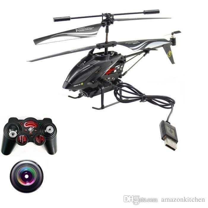 Rc Helicopter With Camera Wl S977 3.5 Ch Radio Control Metal Gyro ...