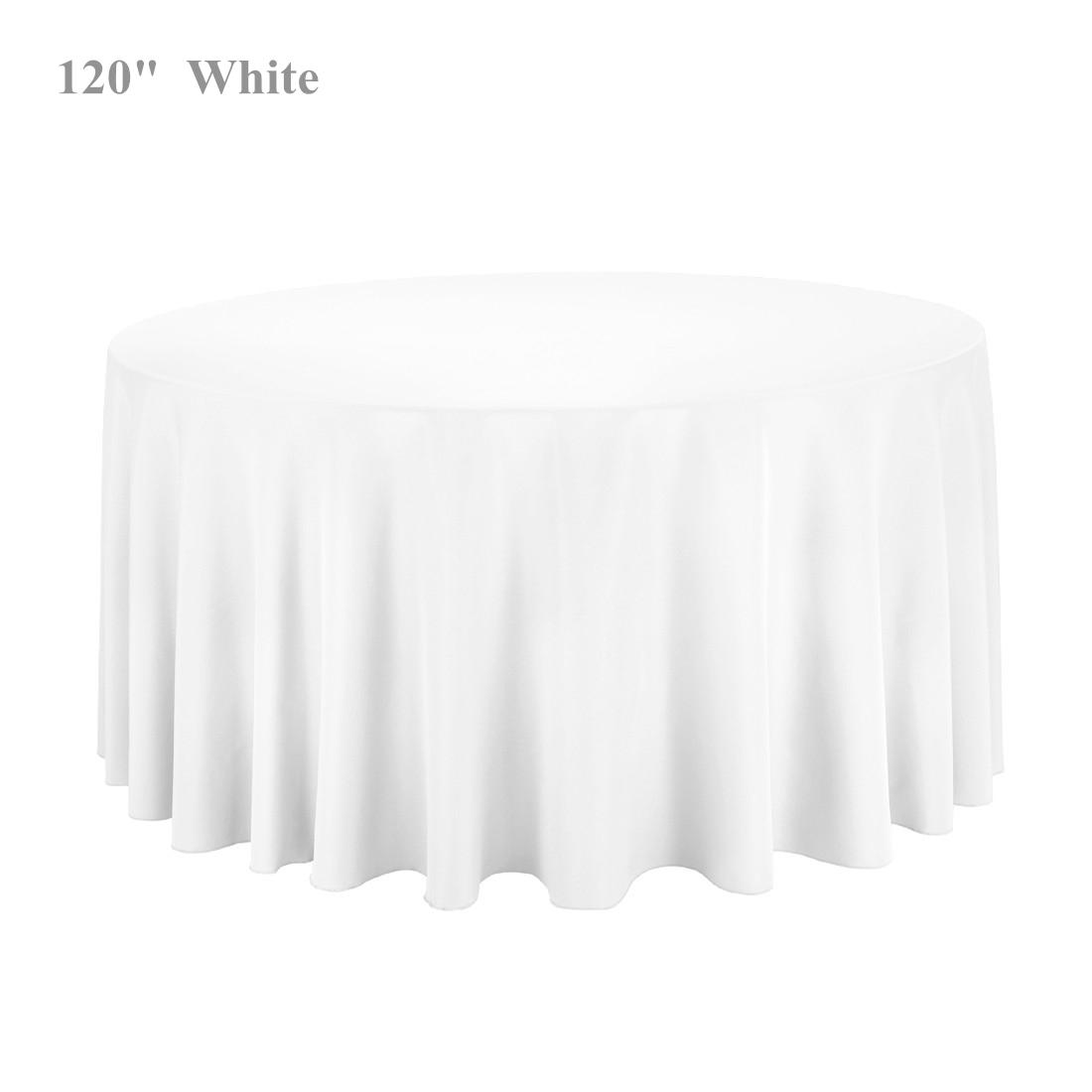 Christmas Tablecloths 120 Round Table Cloths Hand Made Polyester