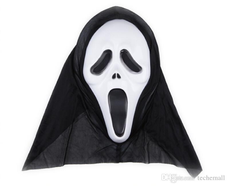 Großhandel Scream Mask Halloween Animation Spiel Zeigen Maskierte ...