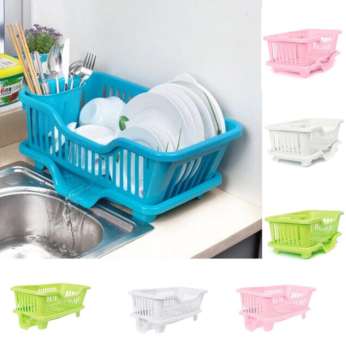 Best Plastic Drain Dish Bowl Storage Rack Multipurpose Drying ...