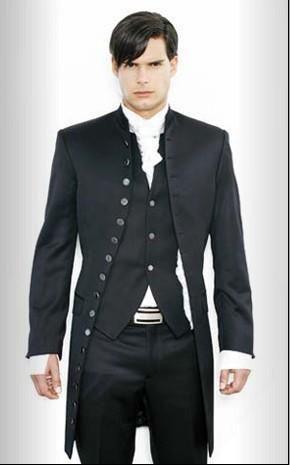 New Mens stylish slim fit wedding Dress Suit Vest pants Clothes+Pants+Vest+Tie