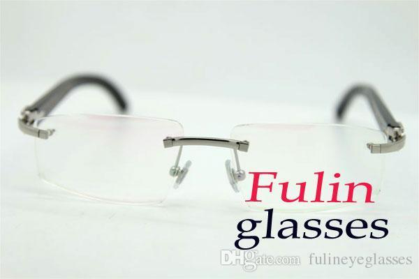 موضة حقيقية الأسود الجاموس قابلة للطي نظارات القراءة نظارات T8100905 الخشب الذهب الإطارات في الهواء الطلق القيادة نظارات الحجم: 54-18-140m