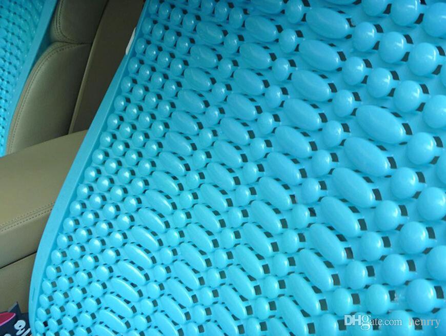 Cojín de asiento de coche transpirable Verano Liangdian Camión plástico Van Bus Minibus Coche de plástico Seis colores Mejor calidad