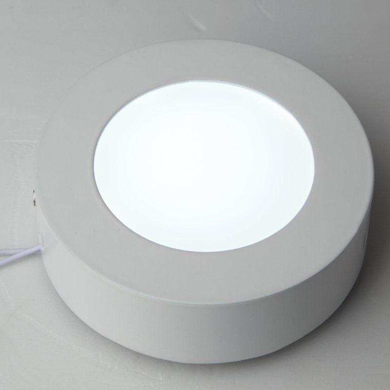 6 W 12 W 18 W 25 w 30 w 36 w Yuvarlak Kare Led Sıva Üstü Dim Panel Işık Led Downlight aydınlatma Led tavan downlight 110-240 V