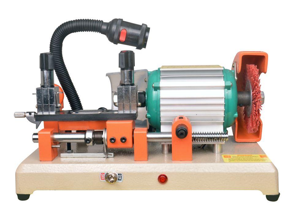 110V ou 220V Clé de coupe automatique de la double machine à découper de la machine à découper un serrurier ALLY Tool d'outil de copie avec une douille de lumière DEFU-2AS