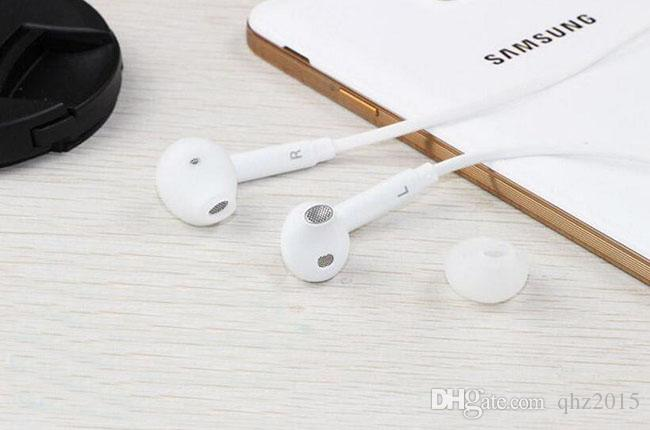 S6 écouteurs écouteurs 3.5mm casque intra-auriculaire casque avec microphone à distance Volume pour tous les SAMSUNG GALAXY S4