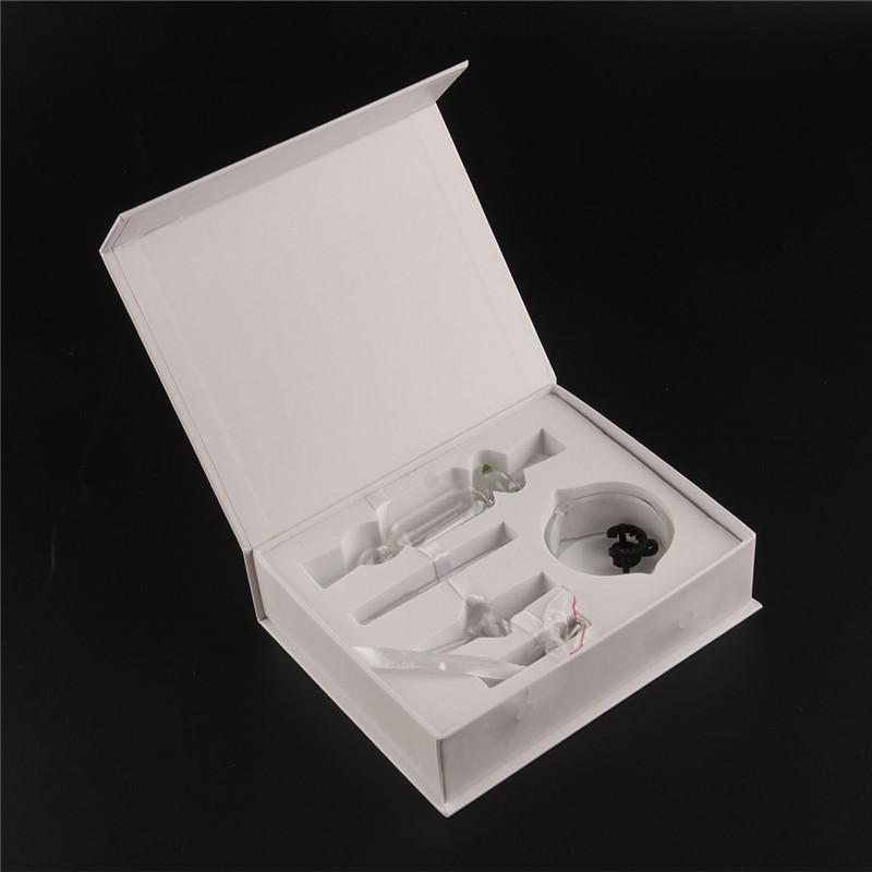Nectar Collector kit miele paglia Tubi acqua in vetro bong quarzo titanio 10mm14mm 18mm Pipa in vetro Narghilè con clip
