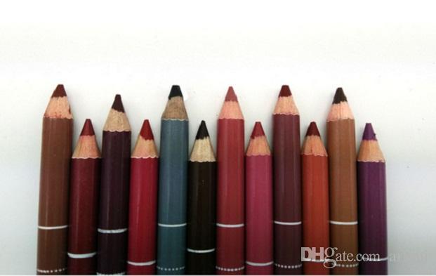2016 Nuovo superiore di vendita lipliner i impermeabile matite le labbra Contorno Labbra matita della fodera trucco cosmetico Tools